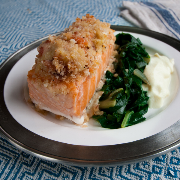 Baked Salmon Royale