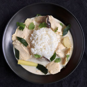 Tom Kha Gai (Thai Coconut Milk Soup with Chicken)