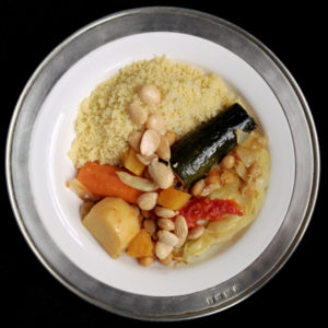 Moroccan-Style Vegetable Couscous
